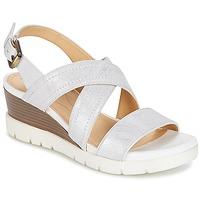 Chaussures Femme Sandales et Nu-pieds Geox MARYKARMEN P.B Blanc