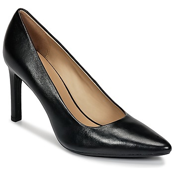 Chaussures Femme Escarpins Geox FAVIOLA C Noir