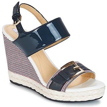 Chaussures Femme Sandales et Nu-pieds Geox JANIRA E Marine