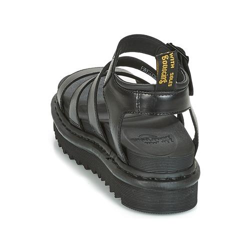 Blaire Noir Chaussures pieds Sandales Nu Et Dr Femme Martens LqzUpSMVGj