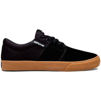 Chaussures Homme Baskets basses Supra Chaussures  Stacks Vulc II black gum Noir