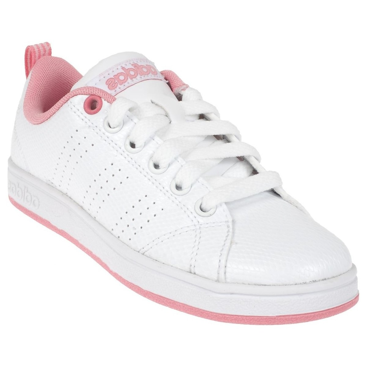 adidas Originals Advantage vs m blc Blanc - Chaussures Baskets basses Femme