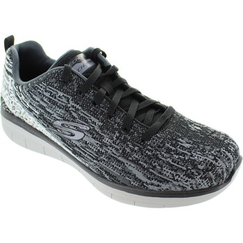 Chaussures Femme Baskets basses Skechers Synergy 2.0 Noir