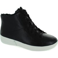 Chaussures Femme Baskets montantes FitFlop F-Sporty High-Top Noir