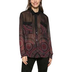 Vêtements Femme Tops / Blouses Desigual Chemise Noa Noir 17WWCW86 38
