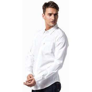 Vêtements Homme Chemises manches longues Levi's COMMUTER 16214 Blanc
