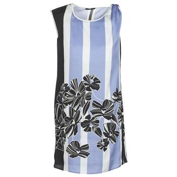Vêtements Femme Robes courtes Sisley LAPOLLA Bleu / Blanc / Noir