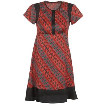 Vêtements Femme Robes courtes Sisley ZEBRIOLO Rouge / Noir