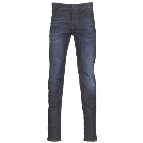 Vêtements Homme Jeans slim Sisley FLAGADU Bleu Foncé