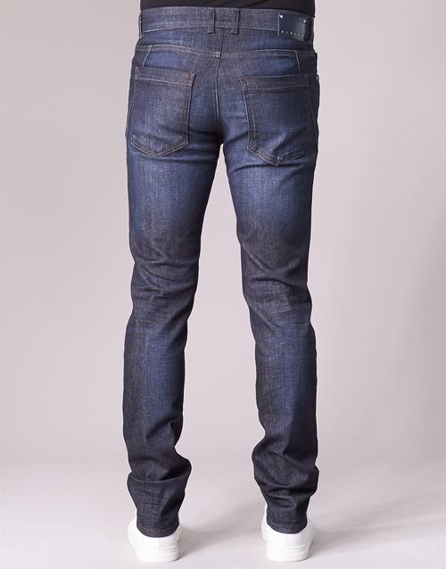 Bleu Sisley Foncé Flagadu Slim Homme Jeans b7gyf6