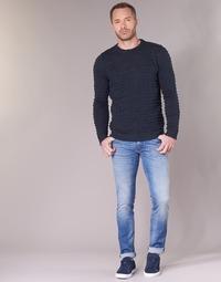 Vêtements Homme Jeans slim Sisley BURLUDU Bleu Médium