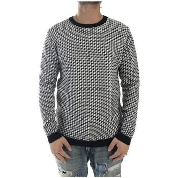 Vêtements Homme Pulls Minimum MEZA Noir / Blanc