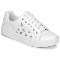 Chaussures Femme Baskets basses Guess JAMIT Blanc