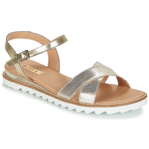 Chaussures Femme Sandales et Nu-pieds So Size ITENIPO Or / Argent