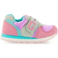 Chaussures Enfant Baskets basses Gioseppo Pół Pinturera Pinkblue