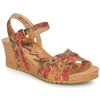 Chaussures Femme Sandales et Nu-pieds Panama Jack VERA Rouge