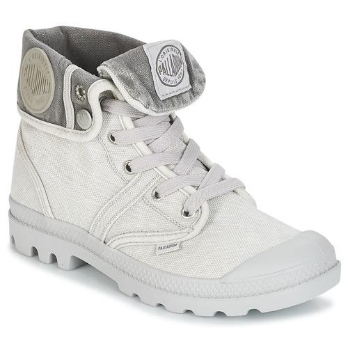 Bottines / Boots Palladium US BAGGY Gris / Métal 350x350