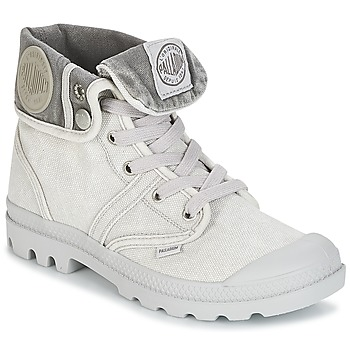 Bottines / Boots Palladium US BAGGY Gris / Métal 350x350