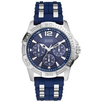 Montre Guess - Montre homme Sport steel silicone (W0366G2)