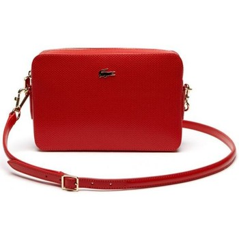Sacs Femme Sacs porté épaule Lacoste - Sac crossover carré Chantaco (NF2068CE) high risk red 883