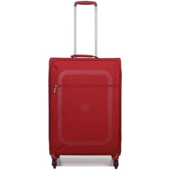 Sacs Valises Souples Delsey - Valise taille moyenne Dauphine 3 (2249811) rouge