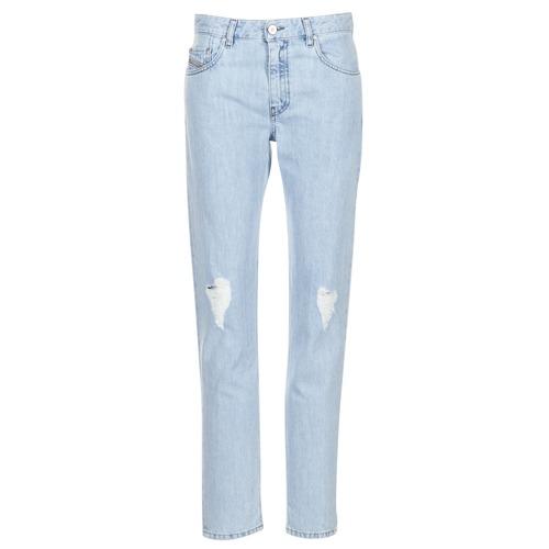 Vêtements Femme Jeans droit Diesel NEEKHOL Bleu 84PL