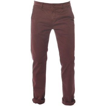Vêtements Homme Chinos / Carrots Deeluxe Pantalon Homme Lawson BORDEAUX