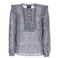 Vêtements Femme Tops / Blouses Scotch & Soda OLZAKD Noir / Blanc
