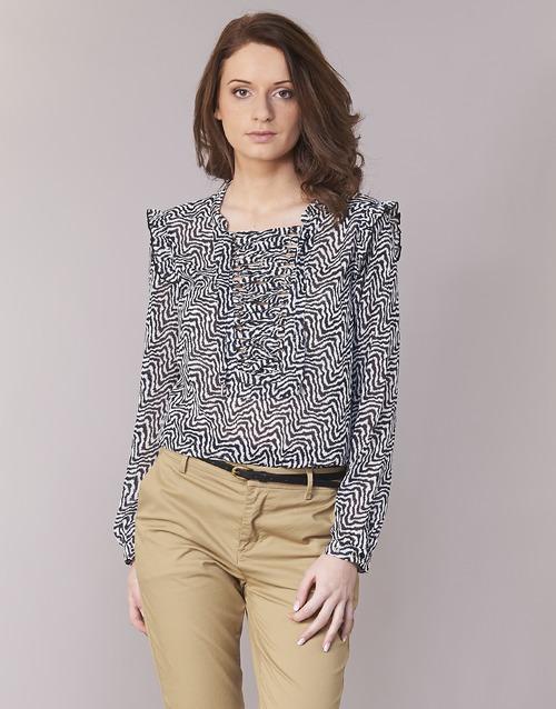 Vêtements Femme Tops / Blouses Maison Scotch OLZAKD Noir / Blanc