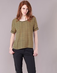 Vêtements Femme Tops / Blouses Scotch & Soda SINIM Noir / Moutarde