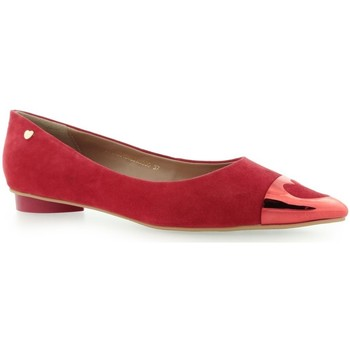 Chaussures Femme Ballerines / babies Love Moschino Scapra Rosso Rouge