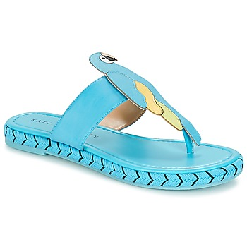 Chaussures Femme Tongs Katy Perry THE YASUNI Bleu
