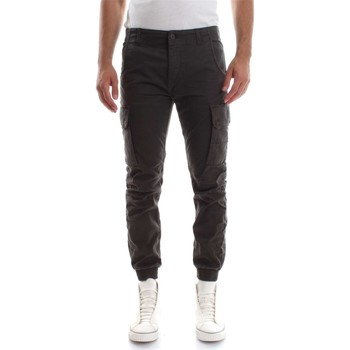 Vêtements Homme Pantalons 5 poches Jack & Jones 12114753 L.34 PAUL WARNER PANTALON Homme Grigio Grigio