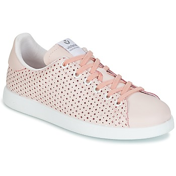 Chaussures Femme Baskets basses Victoria DEPORTIVO PIEL PERFORADO ROSE