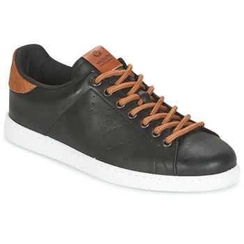 Chaussures Homme Baskets basses Victoria DEPORTIVO PU CONTRASTE Noir