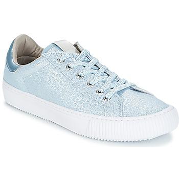 Chaussures Femme Baskets basses Victoria DEPORTIVO LUREX Bleu