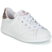 Chaussures Enfant Baskets basses Victoria DEPORTIVO BASKET PIEL KID Blanc