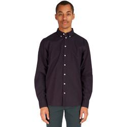 Vêtements Homme Chemises manches longues Minimum CHRIS Violet Foncé