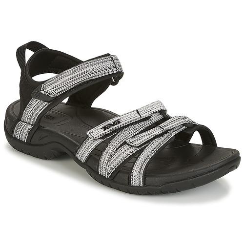 Teva TIRRA Noir / Blanc - Livraison Gratuite avec  - Chaussures Sandale Femme