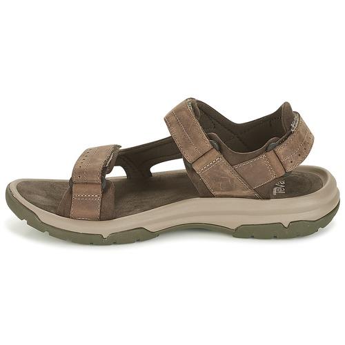 Nu pieds Et Langdon Marron Chaussures Teva Sandal Homme Sandales WHDIYE29