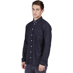 Vêtements Homme Chemises manches longues Minimum PELHAM Bleu Foncé