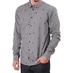 Vêtements Homme Chemises manches longues Minimum JEYLEN Gris