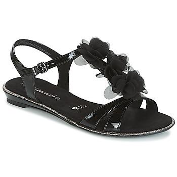 Chaussures Femme Sandales et Nu-pieds Tamaris GACAPI Noir