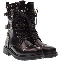 Chaussures Fille Bottes ville Gold&gold  Nero