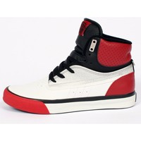 Chaussures Homme Baskets montantes Famous Basket montante collector  FUTUR Hi Top  White Red Introuvables Blanc