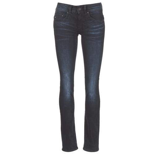 Vêtements Femme Jeans droit G-Star Raw MIDGE SADDLE MID STRAIGHT Rink