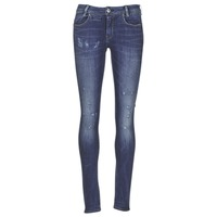 Vêtements Femme Jeans skinny G-Star Raw D-STAQ 5 PKT MID SKINNY Medium aged restored