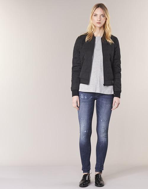 Vêtements Femme Jeans skinny G-Star Raw D-STAQ 5 PKT MID SKINNY Medium aged restored