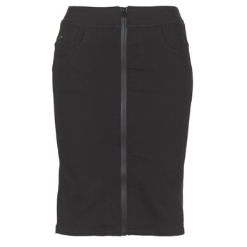 Vêtements Femme Jupes G-Star Raw LYNN LUNAR HIGH SLIM SKIRT Noir