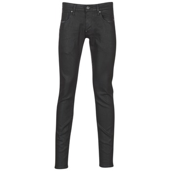 Vêtements Homme Jeans skinny G-Star Raw REVEND SUPER SLIM Noir